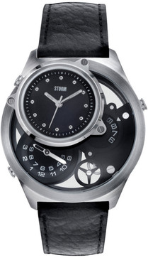Storm Trilogy Double Decker Triple Time Zone Limited Edition -Black