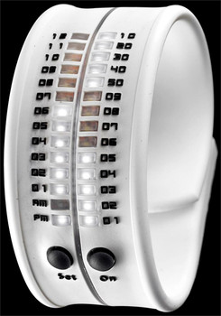 Reflex Slap LED Bracelet Watch -White
