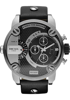 Diesel DZ7256 SBA Leather Chrono Black