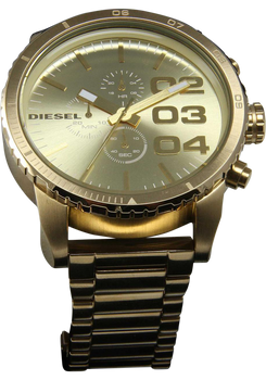 Diesel DZ4268 XL Franchise Chronograph All Gold