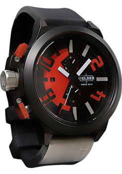 Welder K35 2501 Red Chronograph