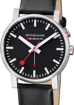 Mondaine EVO Alarm Black