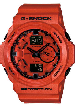 G-Shock Classic Metallic Orange Red