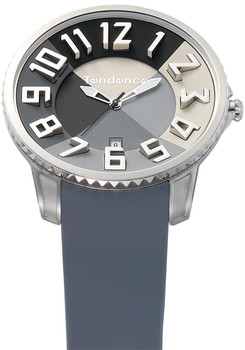 Tendence Slim Irreverent Black/Grey 47mm
