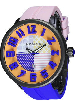 Tendence Crazy Multi Orange/Blue/Black