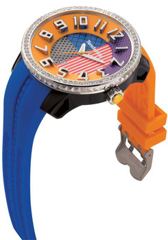 Tendence Crazy Swarovski Multi Orange Blue Purple