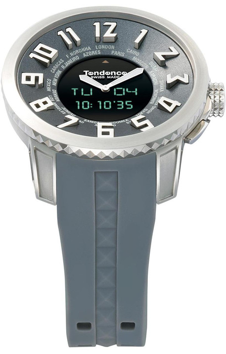 Tendence Swiss-Made Anadigit Silver