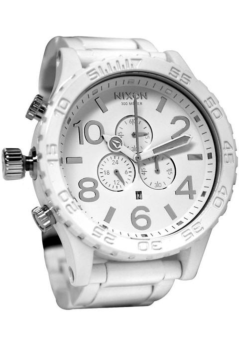 Nixon 51-30 Chrono All White/Silver