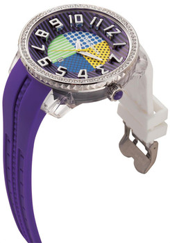 Tendence Crazy Swarovski Multi White Purple Yellow Blue Green