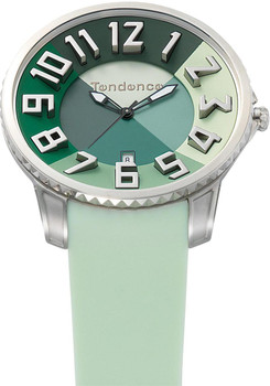 Tendence Slim Irreverent Green 47mm