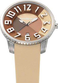 Tendence Slim Irreverent Brown 47mm