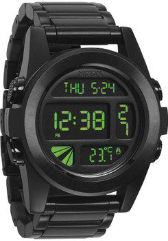 Nixon Unit SS All Black Green