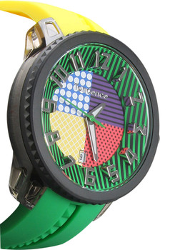 Tendence Crazy Medium Black Yellow Green