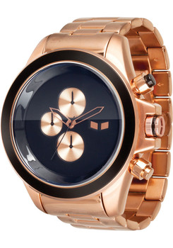 Vestal ZR3 Rose Gold Minimalist Chrono ZR3019
