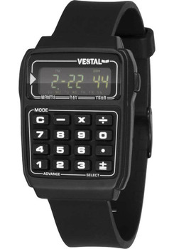 Vestal DAT011 Datamat Calculator - All Black