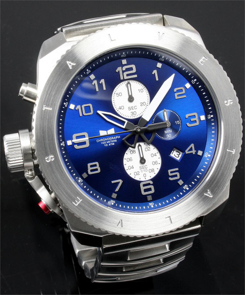 Vestal Restrictor Chronograph Steel/Blue