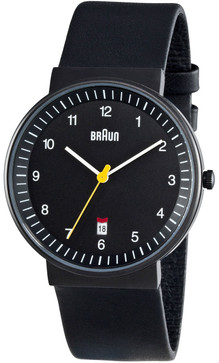 Braun BN0032 Black Date Leather