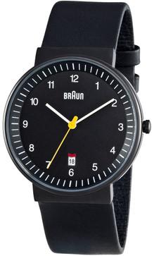 Braun BN0032 Black Date Leather