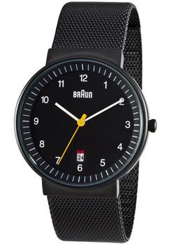 Braun BN0032 Black Date Mesh