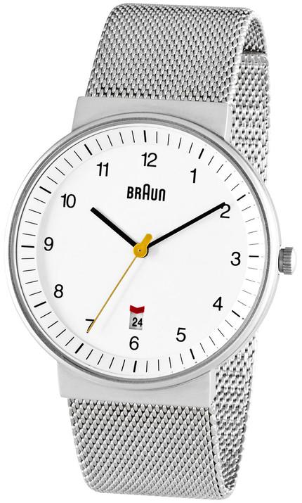 Braun BN0032 White Date Mesh
