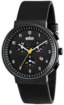 Braun BN0035 Black Chrono Leather