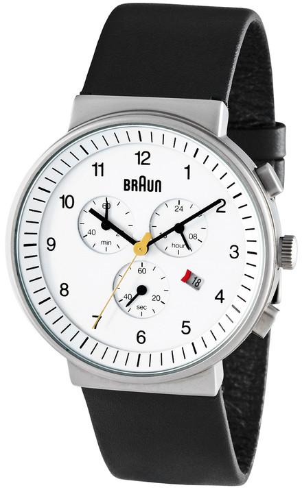Braun BN0035 White Chrono Leather