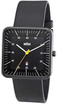 Braun BN0042 Black Date Leather