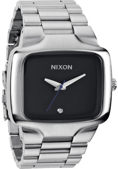 Nixon Big Player Silver Black