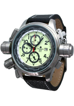 Aeromatic Cannon Worldtime Luminous 404A Chronograph