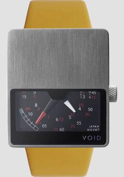 Void Steel/Mustard V02 Retrograde