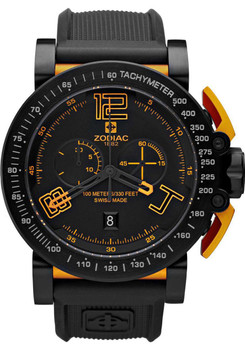 Zodiac 8554ZO Black Orange Swiss Racer