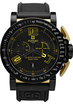 Zodiac ZO8555 Black Yellow Swiss Racer