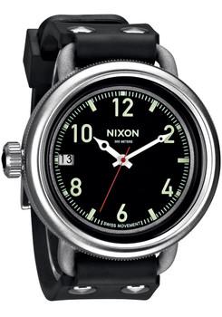 Nixon October Silver Black