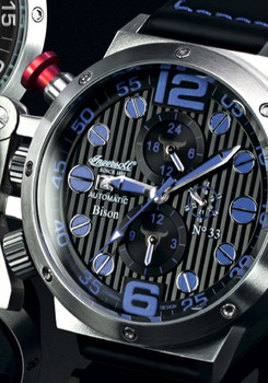 Ingersoll Limited Edition Automatic Steel/Blue