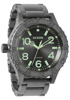 Nixon 51-30 Titanium Gunmetal/Lum