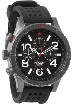 Nixon 48-20 Chrono P Gun/Black