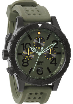 Nixon 48-20 Chrono P Surplus/Black