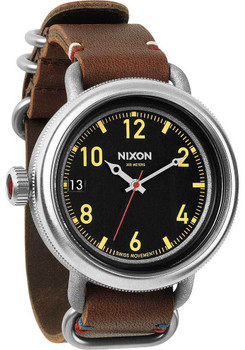 Nixon October Leather Brown/Black