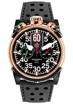 CT Scuderia Saturno Bullhead Chrono Rose Gold