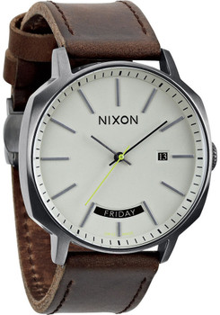 Nixon Regent Automatic Gunmetal Brown