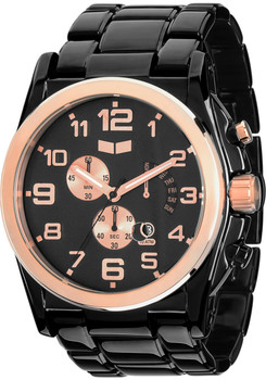 Vestal DEV010 De Novo Polished Black Rose Gold