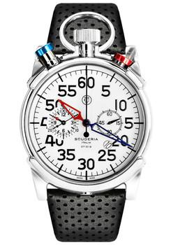 CT Scuderia Corsa Bullhead Chronograph Black/Silver