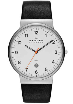 Skagen SKW6024 Klassik Date Leather