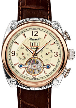 Ingersoll Cimarron Automatic Rose Gold/Brown