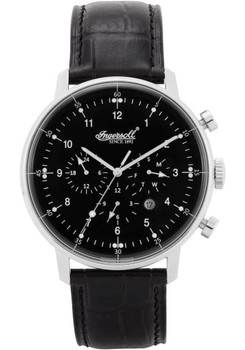 Ingersoll Houston 2816BKIN Automatic Silver/Black