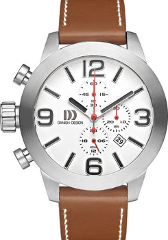 Danish Design Flyve Chronograph Brown