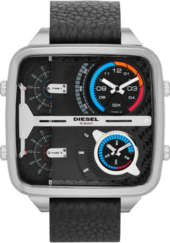 Diesel DZ7283 Mr Daddy Square Silver/Black