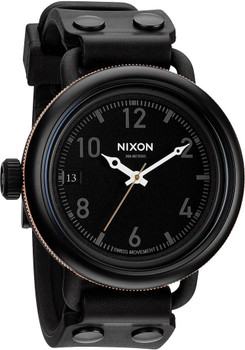 Nixon October Matte Black Industrial