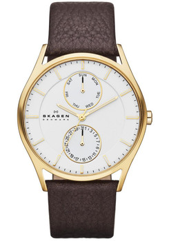 Skagen SKW6066 Klassik Multifunction -Brown/Gold