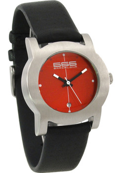 666 Primeon Leather Red/Black